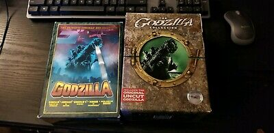 Godzilla Kaiju Dvd Ultimate Anniversary Collection Lot Partially Sealed Rare Oop