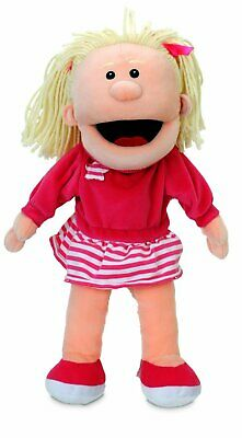 Tellatale White Girl Moving Mouth Hand Puppet