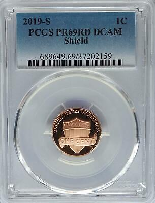 PCGS 2019-S Proof Lincoln Shield Cent Penny PR69 DCAM US Mint Abe Abraham USA 1c