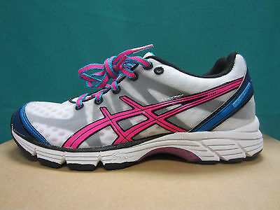 981a7c11b6 New Asics Gel-DS Racer 9 Women's Size 5.5 Running Shoes T266N White/Pink