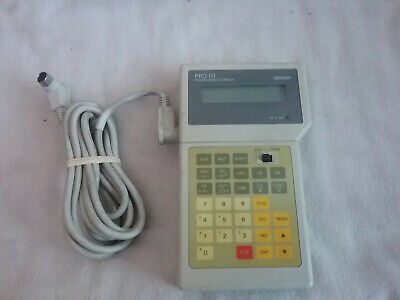 Omron Programming Console PRO 01 PRO01 SP10-PRO01-V1 (WORKING)