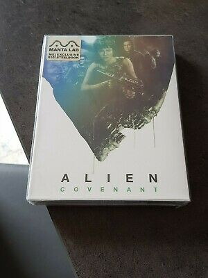 Alien Covenant Blu-ray Steelbook - Manta Lab Fullslip - New and sealed