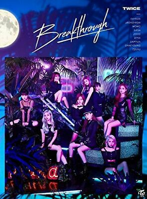 TWICE Japan 5th Single [Breakthrough] Type A (CD + DVD) Limited Edition