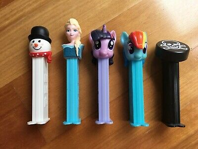 Pez dispensers - bulk lot assorted, Disney, Halloween, My Little Pony