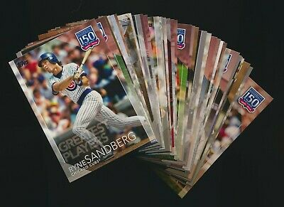 2019 Topps Series 2 150 Years of Baseball Inserts Pick from List Finish Your Set