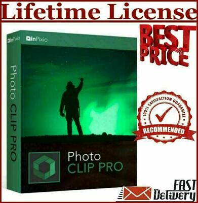InPixio Photo Clip V9.1 pro⭐Download link,serial key🚀for 5 PCs🚀Windows⭐