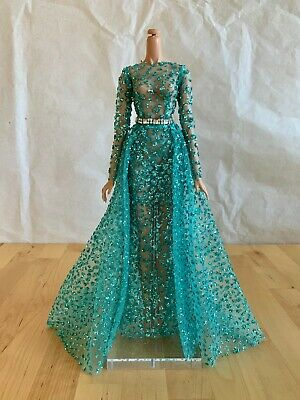 Beautiful Handmade Doll Dress for Fashion Royalty Nu Face by Antonio Realli