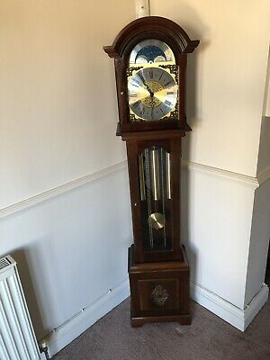 Smallcombe Grandmother Clock. Free Uk Delivery and Set Up