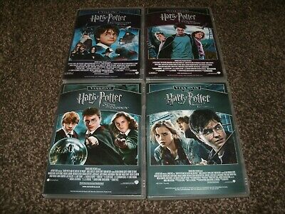 Harry Potter Movie Collection 1-8  (Region 2 dvd)  12345678  FREE POSTAGE