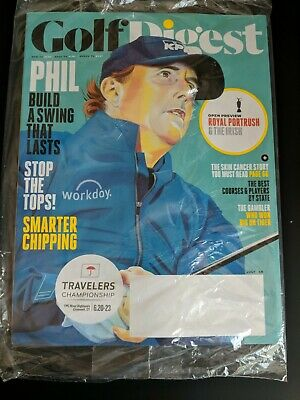 Golf Digest July 2019 Phil Mickelson