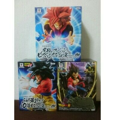 Dragon Ball set of 3 DRAGONBALL Z DOKKAN BATTLE 4TH ANNIVERSARY FIGUR