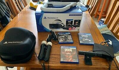 Sony PlayStation 4 PS 4 VR Creed Rise to Glory Bundle CUH-ZVR2 JSV35