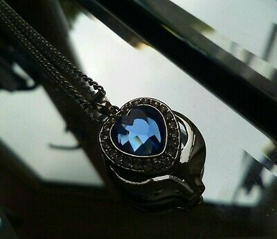 Heart Shaped Keepsake Cremation Ashes Necklace - Funeral Jewellery Urn Pendant