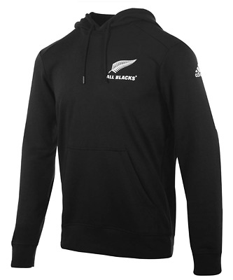 [ -50% ] Adidas All Blacks Rugby Ess Hood Jacket