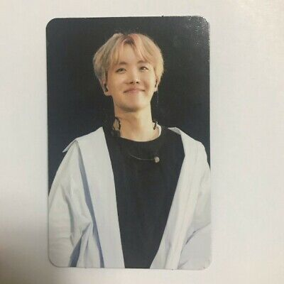 BTS 2017 The Wings Tour In Seoul DVD Live Trilogy Episode III J Hope Photocard