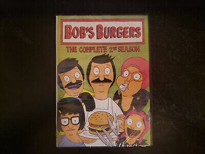 Bobs Burgers: The Complete 2nd Second Season 2 (DVD, 2013, 2-Disc Set) NEW