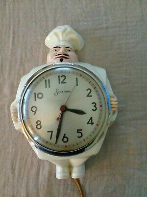 Vintage Chef Kitchen Wall Clock- Sessions