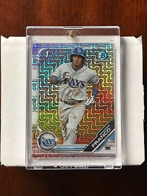 2019 Bowman Chrome Mega Box Mojo Refractor Complete Set (100) Franco Bart Mint