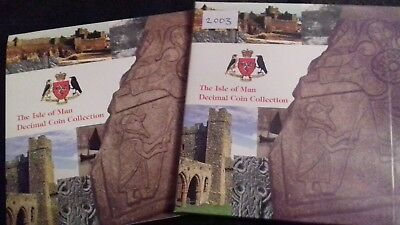 Very Rare 2002 Isle of Man Coin Set - Includes Very Rare christianity 50p Coin