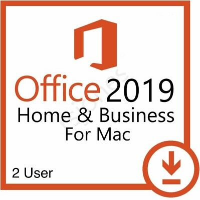 Office 2019 For Mac Home & Business - 2 PC User