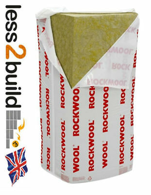 ROCKWOOL RWA45 Acoustic Sound Insulation 25,50, 75 and 100mm thickness x 1 pack