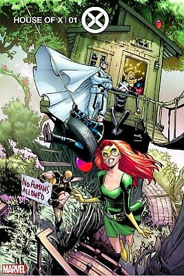 House Of X 1 2919 Humberto Ramos Party Variant Nm