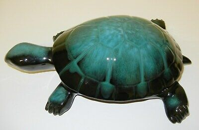 Blue Mountain Pottery Huge Turtle - Excellent Condition
