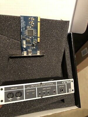 RME hammerfall dsp multiface With PCI CARD. GREAT SHAPE!