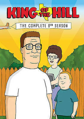 King of the Hill: The Complete 8th Eighth Season 8 (DVD, 2014, 3-Disc Set)