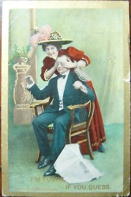 Vintage post card Mailed in 1910