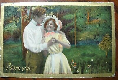Vintage post card Mailed in 1908