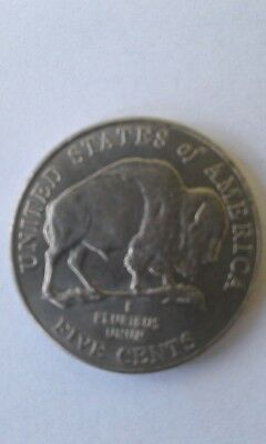 STRING 2005D JEFFERSON NICKEL UNCIRCULATED OBW BANK ROLL BISON BUFFALO N.F