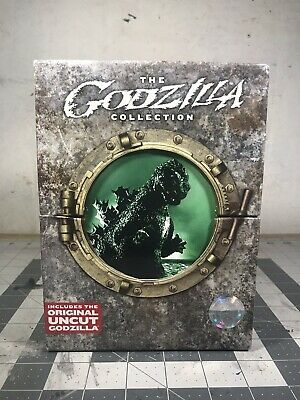 Godzilla Collection (DVD, 2007) Master Collection Slipcase Version *Super Rare*