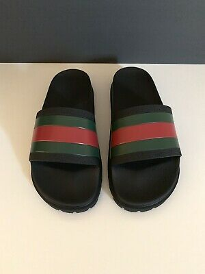 295fd0bfd GUCCI PURSUIT 72 Slides (Men) Size US 6-15 Sandals Flip Flops Slip ...