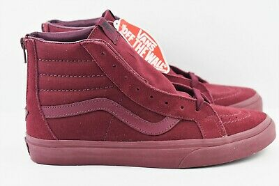 VANS SK8 HI ZIP CA California Collection leather nubuck