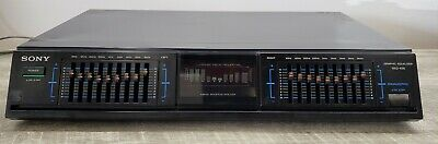 Sony SEQ-430 9-Band Equalizer & Spectrum Analyzer 120V/220V *Works* WATCH VIDEO