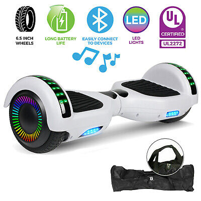 """6.5"""" Self Balancing Scooter Hoverboard UL2272 w/ Bluetooth Speaker/LED Light New"""
