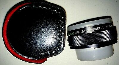 Pro Multi-Coated Auto Teleconverter 2x for Nikon Ai With Caps And Case, EXC++