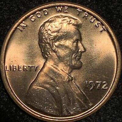 1972 Lincoln Cent Double Die Obverse Gorgeous Ddo Gem * Rare Bu +++++ A Beauty!!