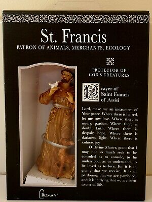 Roman Inc St Francis of Assisi Patron of Animals  50272