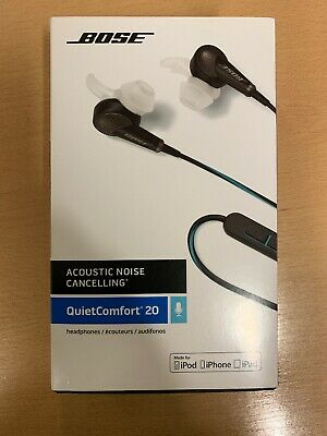 Bose QuietComfort QC20i (Hardly Used and Boxed) In-Ear Warm Grey