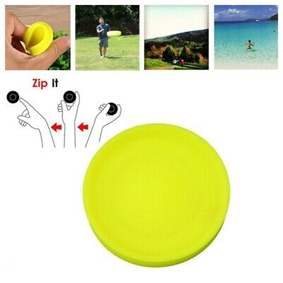Mini Silicone Flying Disc Thorwing Saucer Catching Outdoor Sport Toys