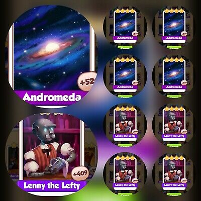 Coin Master Card Bundle ☆☆☆5x Andromeda& 5x Fire Ring ☆☆☆ Fastest Delivery