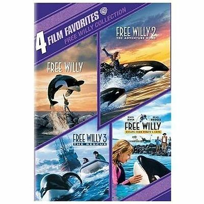 4 Film Favorites: Free Willy Collection [New DVD] Full Frame, Widescreen, SEALED