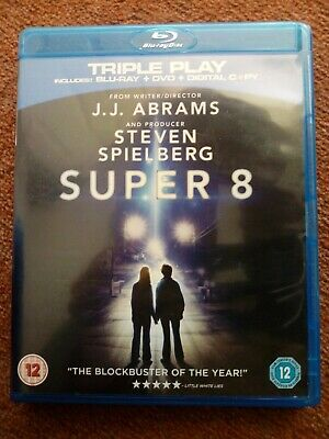 SUPER 8 (Blu-ray and DVD Combo, 2-Disc Set) JJ ABRAMS / SPIELBERG