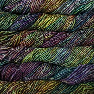 "Malabrigo Mecha ""Arco Iris 866"" Chunky Yarn 100% Merino Superwash 100g Knitting"