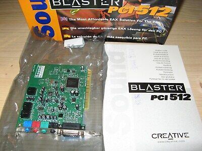 CREATIVE SOUND BLASTER PCI 512 WINDOWS 8 X64 TREIBER
