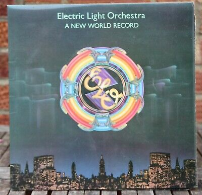 ELO Electric Light Orchestra A New World Record Vinyl LP Record 1976 NEAR MINT