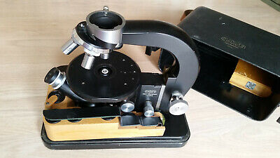 Original Meopta army portable microscope vintage