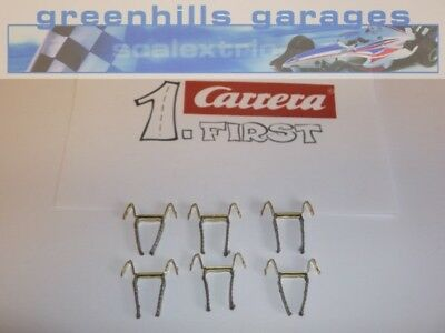 Greenhills Scalextric Carrera First double contact brushes / braids x 6 - NEW...